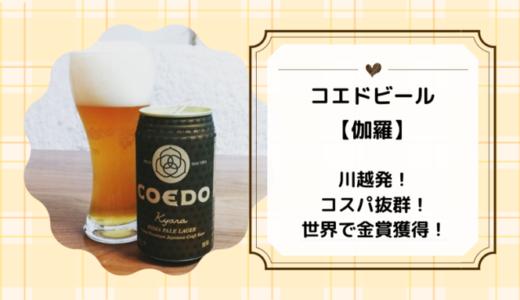 【コエドビール伽羅】コスパ最高のインディア・ペール・ラガー